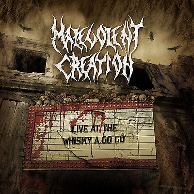 MALEVOLENT CREATION Live At The Whiskey A Go Go CD ( MASCD 607 )
