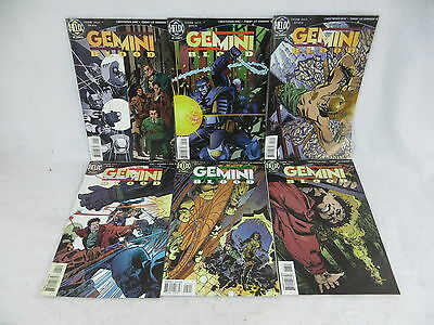 Gemini Blood #1-6 DC/Helix Comics 1996