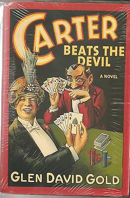 Carter Beats the Devil Glen David Gold 1st Ed. Mint Magic Novel