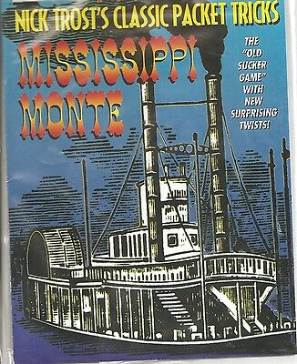 NICK TROST CLASSIC PACKET TRICK MISSISSIPPI MONTE CARD TRICK