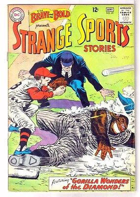 BRAVE and the BOLD #49 Strange Sports Stories! DC Comic Book ~ VG/FN