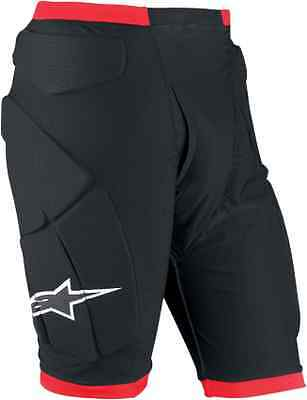 Alpinestars Compression Shorts Padded Black Red All Sizes