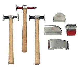 Apex Tool Group 82302 7 Piece Body Hammer Set
