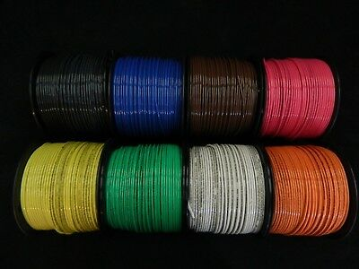 12 Gauge Thhn Wire Stranded Pick 3 Colors 25 Ft Each Thwn 600V Cable Awg