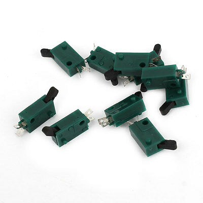 10 Pieces Momentary Micro Miniature Switch Green for Camera