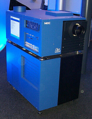 NEC 2500S Digital Cinema Projector w/Dolby Server, lens and lamp
