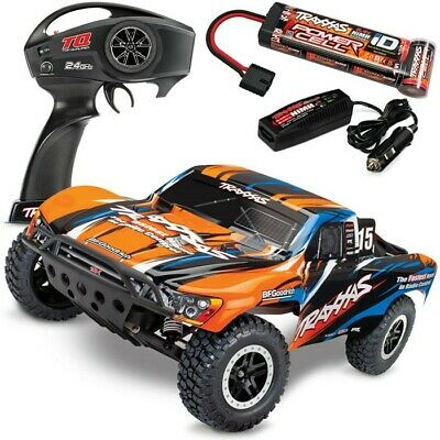 Traxxas Slash RTR 58034-1 Short Course 1/10 Truck w/TQ 2.4GHz & QUICK CHARGER!!