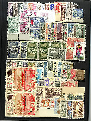 81 Timbres Tunis Tunisie  Afrique Du Nord Maghreb