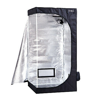 80x80x160 cm HORTOSOL Grow Tent - Indoor Box Home Mylar Room Dark - 0.8 1.6 m