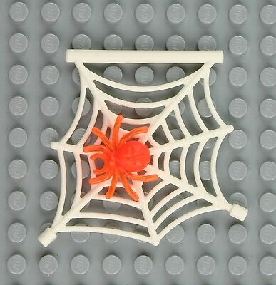 New Genuine LEGO Red Spider and White Web Animal