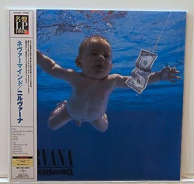 NIRVANA Nevermind 200-Gram VINYL LP Sealed Japanese OBI Audiophile Foo Fighters