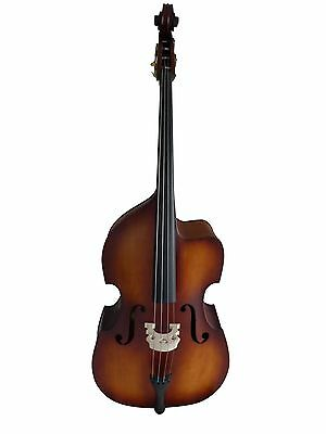 Double Bass 4/4 size, matte, cutaway, half-carved new