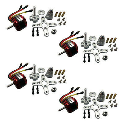 PAA 4pcs EMP C2822 KV1900 Outrunner Brushless Motor For Quadcopter Airplane