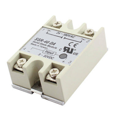 AC24-380V 40A Output Single Phase SSR Solid State Relay