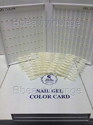 120 Nail Colour Chart Display Book With 120 Tips For Uv/led Varnish & Gel Polish