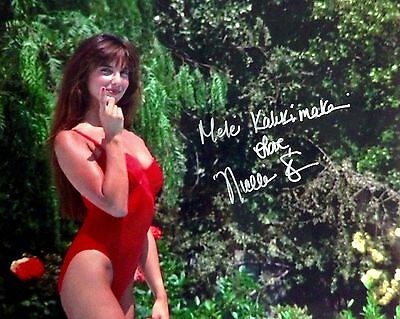 NICOLETTE SCORSESE Signed CHRISTMAS VACATION Chevy Chase 8x10 Photo - A&R