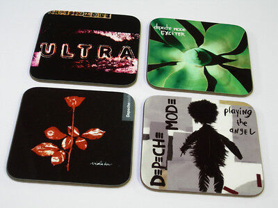 Depeche Mode Album Cover COASTER Set #3