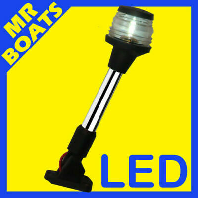 LED ANCHOR / STERN  ✱ FOLD DOWN LIGHT ✱ Foldable Boat Navigation Light FREE POST