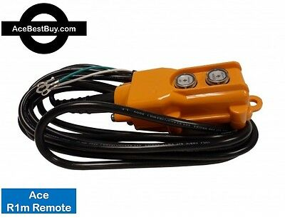 R1m, 3 Wire Ace Remote Control - GRAVITY DOWN hydraulic pump MAGNETS 12v or 24v