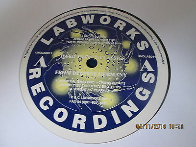 """Hard Trance Classics From Deepest Germany 12"""" Labworks UK 1994"""