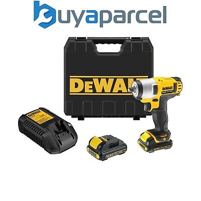 Dewalt DCF813D2 10.8v Lithium Ion Compact Cordless Impact Wrench 2 x Batteries
