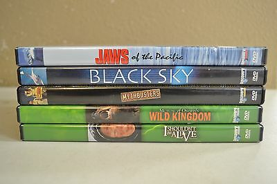 Lot of 5 Discovery Channel DVD's S-84 Guaranteed to play