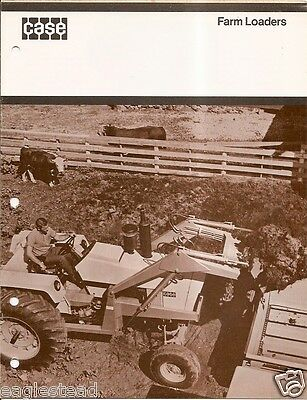 Farm Equipment Brochure - Case - 70 393 - Loaders for Tractor - 1969 (F2564)