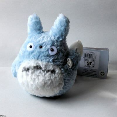 "Studio Ghibli 4"" Blue Totoro - Official Plush Toy - New"