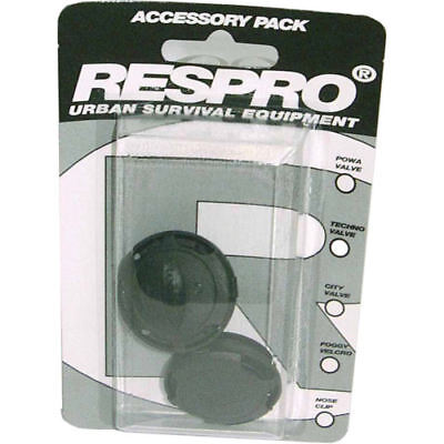 Respro City Anti-Pollution Cycling Face Mask Replacement Spare Valves 2 Pack