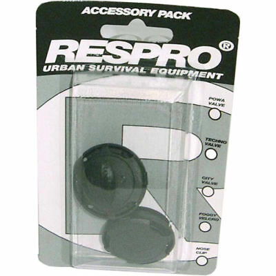 Respro Techno Anti-Pollution Cycling Face Mask Replacement Spare Valves 2 Pack