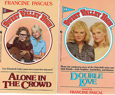 Partial Set Series Lot Of 30 Sweet Valley High Svh By Francine