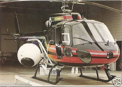Helicopter Postcard - VC - Wescam - Camera Surveillance Unit (P2530)