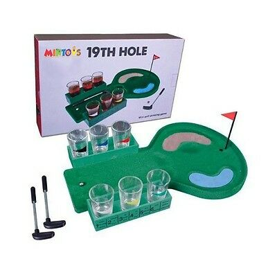 Mintoys Putting Golf Adult Dinner Party Drinking Shots Sport Game Gift Set