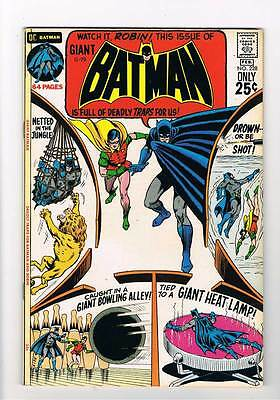 Batman # 228  80 pages of Deadly Traps grade 8.0 movie super scarce hot book !!