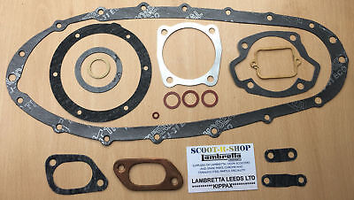 200 Cc Complete Gasket Set For Lambretta Gp-Li-Sx-Tv Brand New