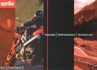 Motorcycle Brochure - Aprilia - Product Line Overview incl Scooter (DC101)