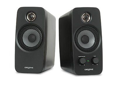 CREATIVE Inspire T10 2.0 Two-Way Speaker System BasXPort 5W RMS per channel F36