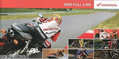 Motorcycle Brochure - Honda - Product Line Overview incl ATV Scooter 2006 (DC118