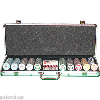 Set Poker valigetta 500 fiches 14 gr. EPT Replica European Poker Tour low stakes