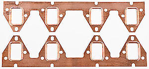 JEGS Performance Products 210353 Copper Exhaust Gaskets Ford FE 352-390