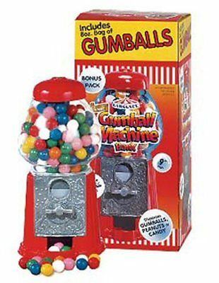 "Carousel Petite 9"" Gumball Machine with gumballs -- NIB"