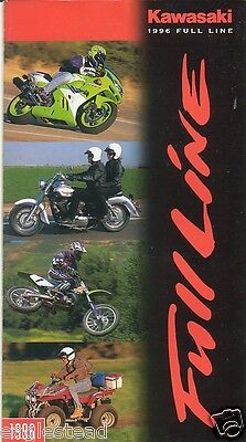 Motorcycle Brochure - Kawasaki - Product Line Overview - 1996 (DC123)
