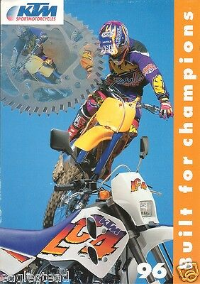Motorcycle Brochure - KTM - Corp Overview 250 SX Supercross Challenge (DC138)