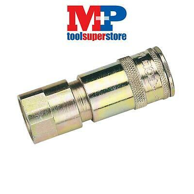 "Draper 51406 1/2"" BSP Taper Female Thread Vertex Air Coupling (Sold Loose)"