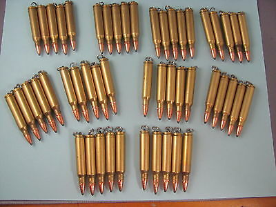 Store Lot, 50 (Fifty) .223 Bullet, pendant, or zipper pull  AR-15