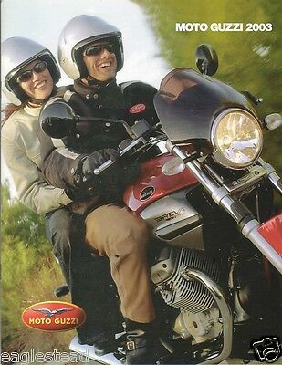 Motorcycle Brochure - Moto Guzzi - Product Line Overview - 2003 - Vert (DC147)