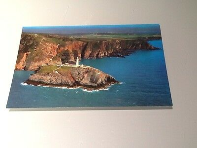 Old Postcard South Stack Lighthouse Anglesey