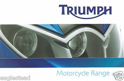 Motorcycle Brochure - Triumph - Product Line Overview - 2005 (DC170)
