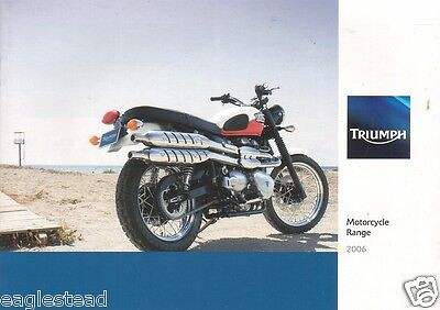 Motorcycle Brochure - Triumph - Product Line Overview - 2006 (DC171)