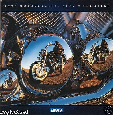 Motorcycle Brochure - Yamaha - Product Line incl ATV Scooter - 1997 (DC174)